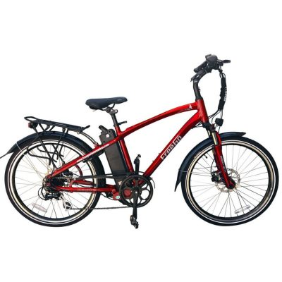 Freego Electric Bikes Red Eagle Crossbar
