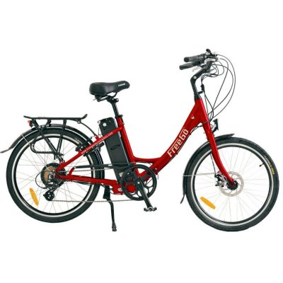 Freego Electric Bikes Red Wren